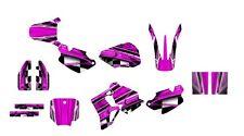 CR 80 graphics kit 1996 1997 1998 1999 2000 2001 2002 CR80 deco kit NO2001 Pink