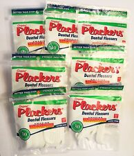 Original! Made in USA! Plackers Dental Flossers Lite Mint Tuffloss 210 Count NEW