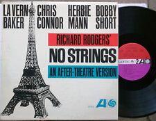 JAZZ SHOW TUNES LP: NO STRINGS La Vern Baker, Chris Connor, H. Mann, Bobby Short