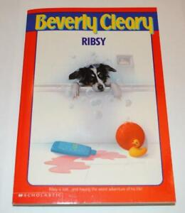RIBSY BY BEVERLY CLEARY PAPERBACK BOOK