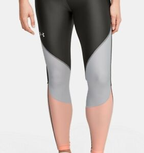 Under Armour Women's UA Mileage Colorblock Leggings 1351182 Size Large