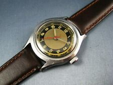 Vintage Reserved OCTO WW2 Military StyleStainless Steel Mens Watch 17J 1940s