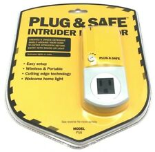 New Plug & Safe Alarm Motion Sensor Detector Wireless Home Theft Security System