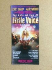 THE RISE AND FALL OF LITTLE VOICE / VICKERS Original Promotional Theatre Flyer