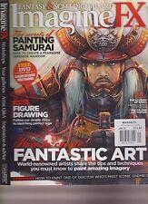 IMAGINE FX MAGAZINE + FREE DISC JANUARY 2009, FANTASY & SCI-FI DIGITAL ART.