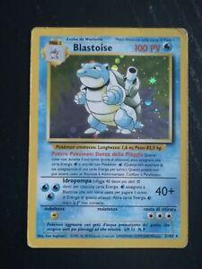 BLASTOISE 2/102 SET BASE _ ITALIANO _ PLAYED_ BLASTOISE HOLO SET BASE