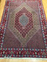 "6'7"" x 9'9"" Kurdish Oriental Rug - Hand Made - 100% Wool - Full Pile"