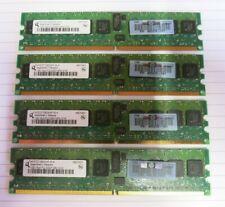 Qimonda HYS72T128000HP-3S-A 4GB (4x1GB) PC2-5300 DDR2 ECC CL5 240P Memory