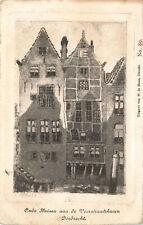 R207748 Oude Huizen aan de Voorstraatshaven Dordrecht. W. de Haan. No. 89