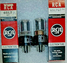 Pair 6SL7GT RCA NOS Vacuum Tubes, Triplett 3444 tested 113%+, will combine ship