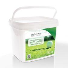 Mineraldünger Moosvernichter Dünger Düngemittel Moos Stop für Rasenflächen 10kg