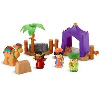 Fisher Price Little People Christmas Wise Men Set Nativity Camel Tent 2013 New