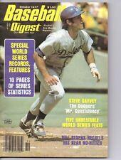 BASEBALL DIGEST 1977 LA DODGERS STEVE GARVEY LOT 4059