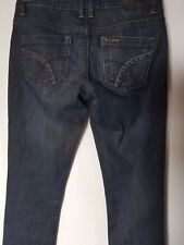 "WOMEN'S JEANS LEE RIDERS BUMSTER STRAIGHT STRETCH SIZE 7/25"" LEG 33"""