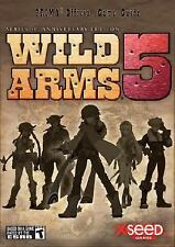 Prima Official Game Guides: Wild Arms 5 FACTORY SEALED (2007, Paperback)