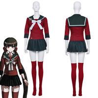 Danganronpa V3 Killing Harmony Harukawa Maki Cosplay Costume Skirt Uniform