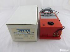 TITAN 114 Trasformatore 48 va 220/9/12/15/18 Volt nuovo e nella sua confezione originale