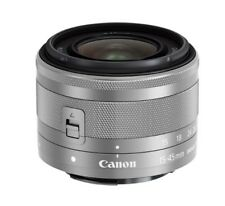 Canon EF-M 15-45mm f/3.5-6.3 IS STM-Silver (White Box)