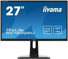 Iiyama ProLite B2783QSU 27 inch LED 1ms Gaming Monitor - 2560 x 1440, 1ms, HDMI