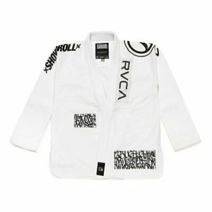 Shoyoroll Absolute King White Batch # 105 RVCA Suit , Jiu Jitsu Suit , Bjj Gi ,