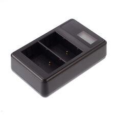LCD USB Dual Battery Charger for EN-EL3E Nikon D100 D200 D300S D700S DSLR Camera