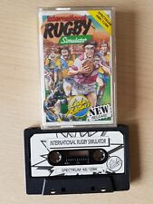 International Rugby Simulator Sinclair ZX Spectrum 48K/128K Game