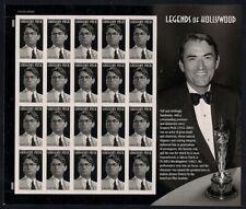 Gregory Peck Legends of Hollywood Sheet of 20 Forever Stamps Scott 4526