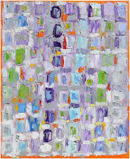 WEEKEND huile sur toile oil on canvas Art Abstrait modern abstract contemporary