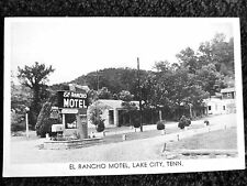 1940's The El Rancho Motel in Lake City, TN Tennessee PC