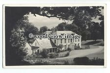 tq1119 - Whitewashed Alfoxton Park Hotel, From the Trees, in Holford - postcard