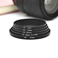 52/55/58/62/67mm Slim UV Filter Camera Lens Protector For Canon DSLR/SLR/DC/DV