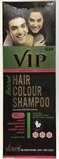 VCare VIP Hair Colour Shampoo 5 In 1- 180ML -Head,Moustache,Beard,Chest, Hand