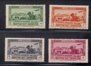 Lebanon   1938   Sc # C75-78   VLH   (30547)