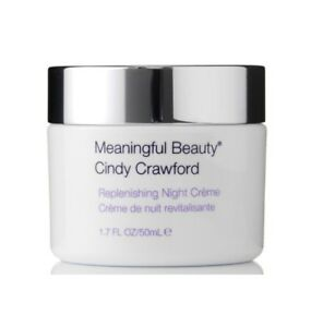 Meaningful Beauty Anti-Aging Night Creme Cream 1.7oz Cindy Crawford 90 Day