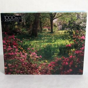 Woodland Flowers 1000 Piece Vintage Sealed Golden Jigsaw Puzzle Made in USA
