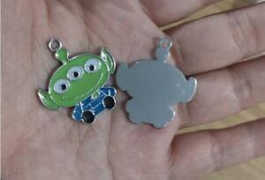 20pcs cartoon toy Enamel Metal Charm Pendant DIY Jewelry Making