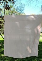 """Vintage Cotton Tablecloth SOLID PEACH 60"""" x 69"""" Rectangle"""