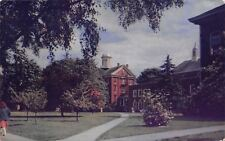 Salem Oregon~Willamette University~Several Student Paths~1950s Postcard