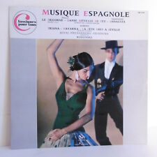 "33T MUSIQUE ESPAGNOLE LP12"" FALLA GRANADOS ALBENIZ Dir. RODZINSKI - TRIANON 6130"
