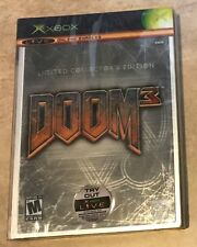 Doom 3  Limited Collectors Edition NEW Factory Sealed in Steelbook Original Xbox