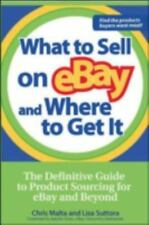What to Sell on Ebay and Where to Get It by Chris Malta Paperback Book (English)