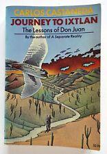 Vintage Carlos Castaneda Journey to Ixtlan trade paperback 1973 first pb printin
