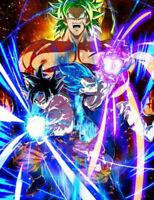 Custom Poster Dragon All Goku Super Broly Japan Anime Art Print C-157