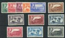 Montserrat 1938-48 set SG101a/12 fine MM