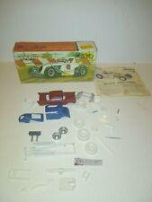 2012 White Lightnin Race Car Lindberg Model Kit Loose Parts