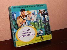 WALD DISNEY SUPER 8  film PELLICOLA -LA FATA MADRINA DI CENERENTOLA-COLORI