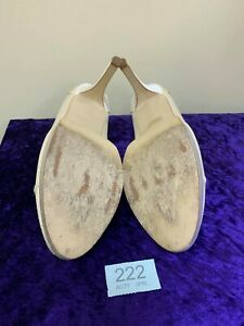 In box Rainbow Club wedding ivory shoes size 8 code 222 Style Zara high heel