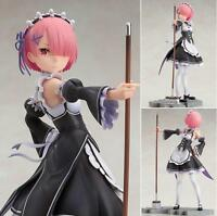 Anime Re:Life in a different world from zero Ram 1/7 PVC Figure Toy Gift No Box