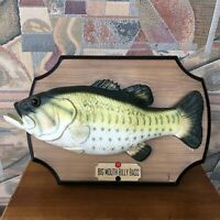 Vintage 1999 Big Mouth Billy Bass Singing and Moving Fish