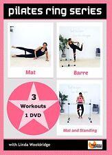 PILATES BALLET BARRE DVD - Barlates Body Blitz PILATES RING SERIES - 3 Workouts